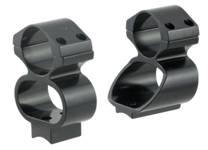 Ironsighter 730 See-Thru Mounts For Remington 74007600 Black Finish