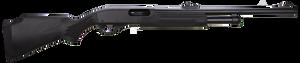 Remington Firearms 25097 870 Express Slug Pump 12 Gauge 20 4+1 3 Black Fixed Monte Carlo Synthetic Stock Black Steel Receiver