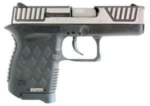 Diamondback DB9SL DB9 Micro-Compact Double 9mm Luger 3 6+1 Black Polymer Grip/Frame Grip Black/Stainless