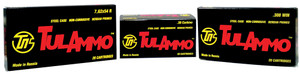 Tulammo TA308000 Rifle  308 Win/7.62 NATO 165 GR Spitzer 20 Bx/ 25 Cs