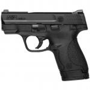 $75 rebate S&W M&P Shield 9mm 3.1 Inch Barrel Black Melonite Finish Polymer Frame One 7 Round and One 8 Round Magazine