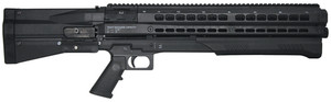 UTU UTS-15 Dual Tube 12 Gauge Pump Shotgun 3 Inch Chamber 18.5 Inch Barrel Matte Black Finish Pistol Grip and Stock 14 Round