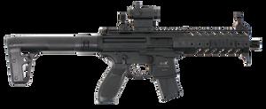 Sig Sauer Airguns AIRMPXMRD MPX MRD Air  .177 Pellet Black Semi-Automatic