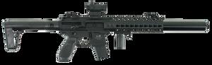 Sig Sauer Airguns AIRMCXMRD MCX MRD Air  .177 Pellet Black Semi-Automatic 18