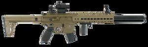 Sig Sauer Airguns AIRMRDMRD MCX MRD Air  .177 Pellet Black/FDE Semi-Automatic 18