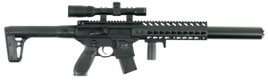 Sig Sauer Airguns AIRMCX MCX Scope Air  .177 Pellet Black Semi-Automatic 18