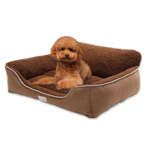 Euchirus Pet Dog Bed for Medium Dogs(X-Large for Large Dogs), Machine Washable Comfortable and Safety Perfect Cushion Beds for Dogs and Cats