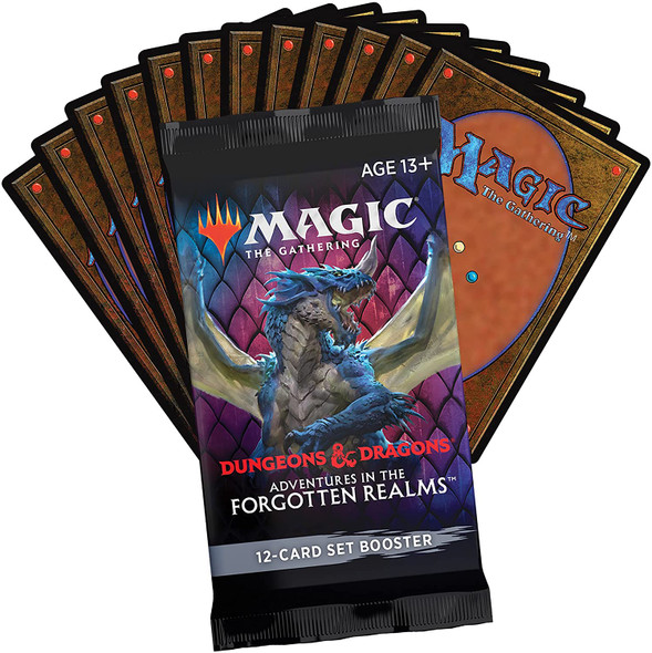 Magic: The Gathering - Adventures In The Forgotten Realms 12 Card Set Booster
