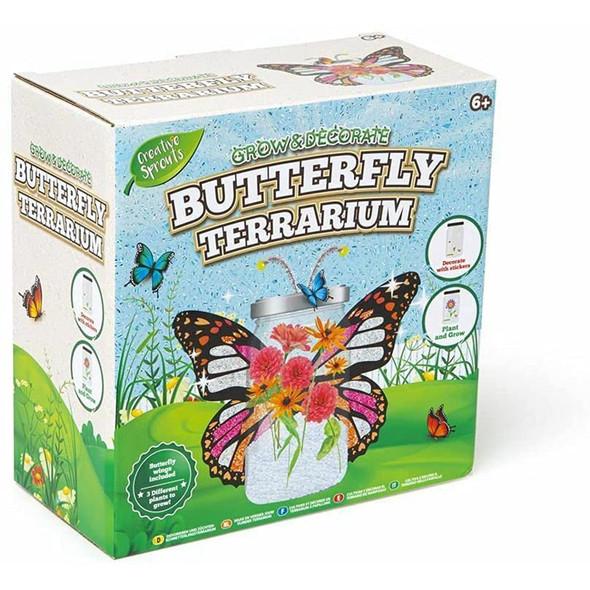 Creative SproutsButterfly Terrarium