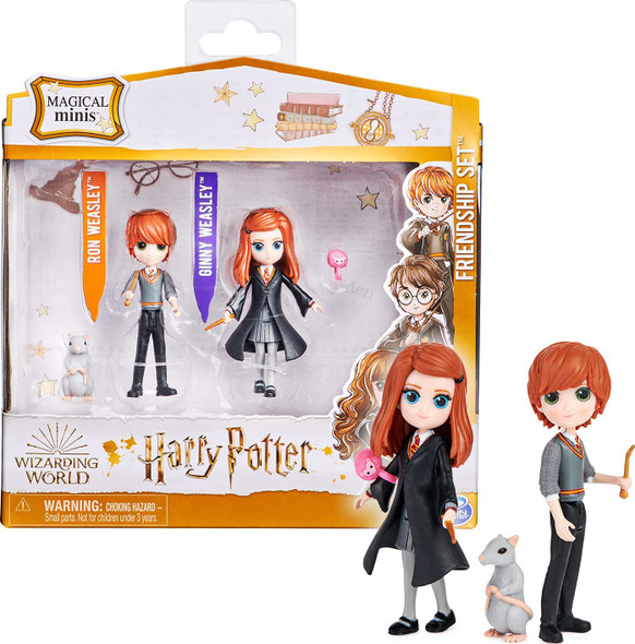 Wizarding World Magical Minis - Ron and Ginny