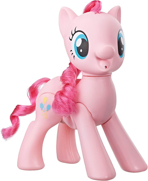 """My Little Pony Toy Oh My Giggles Pinkie Pie -- 8"""" Interactive Toy with Sounds & Movement"""