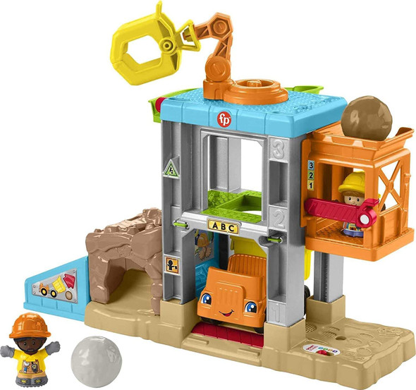 Fisher-Price Little People Load Up 'n Learn Construction Site