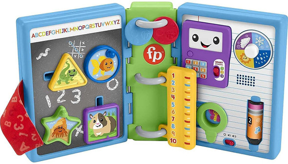 Fisher-Price Laugh & Learn 123 Schoolbook Electronic Activity Toy