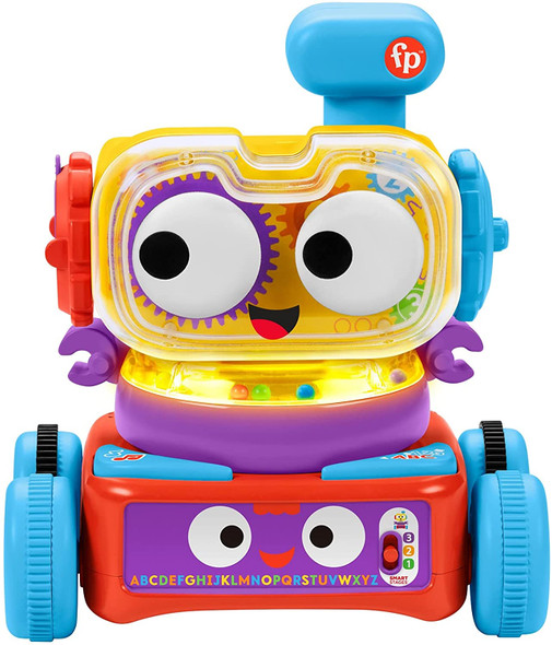 Fisher-Price 4-in-1 Ultimate Learning Bot Electronic Activity Toy