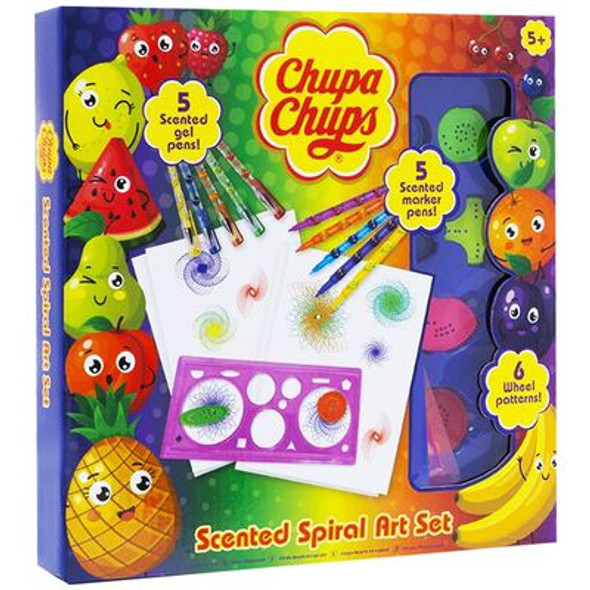 Chupa Chups Fruit Scented Spiral Art