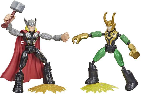 Avengers Bend And Flex Thor Vs Loki Figures