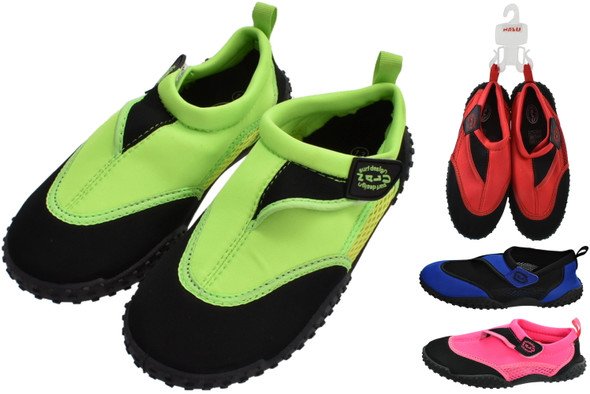 Nalu Aqua Shoes Size 7 Adults - 1 Pair Assorted Colours