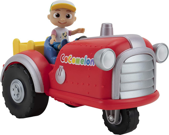 Cocomelon Musical Tractor with Sounds & Farmer JJ Figure