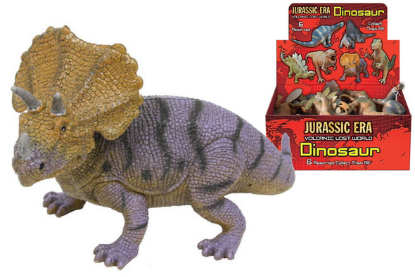 Dinosaurs 17-20Cm 6 Assorted Designs  (One Supplied)