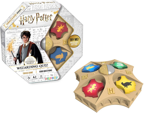 TOMY Games T73181 Harry Potter Electronic Wizarding Quiz Game