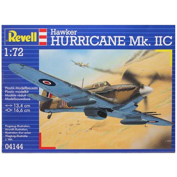 Revell 04144 1:72 Hawker Hurricane Mk IIC Plastic Model Kit