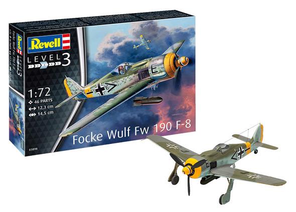 Revell 3898 Focke Wulf Fw190 F-8 1:72 Plastic Model Kit