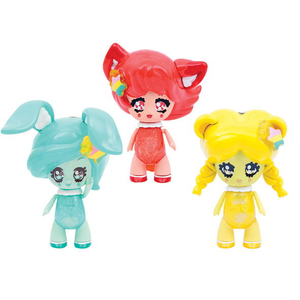 Glimmies Rainbow Friends Triple Doll Pack