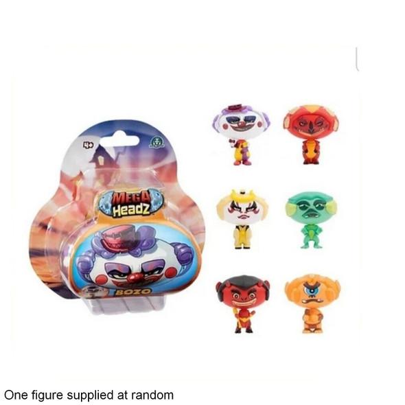 Mega Headz Single Figure Pack Character At Random
