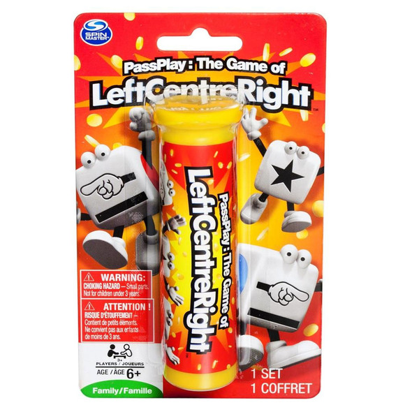 PassPlay: Left Centre Right LCR Dice Game