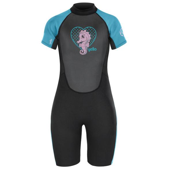 "Yello Short Seahorse Shorty Wetsuit 20"" 3XS"