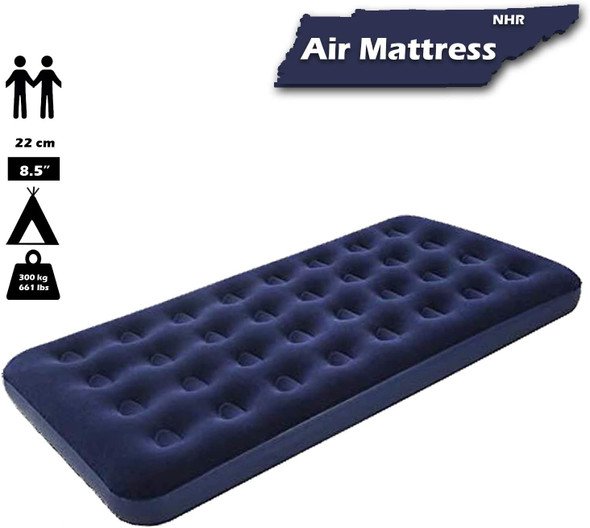 """Bestway 75""""x54""""x8.5"""" Flocked Air Bed/Double"""