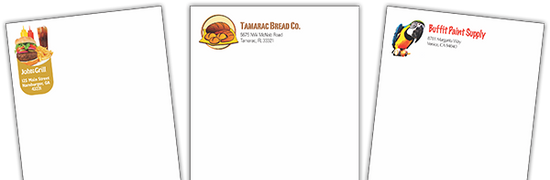 wholesale letterhead