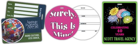printed bag tags