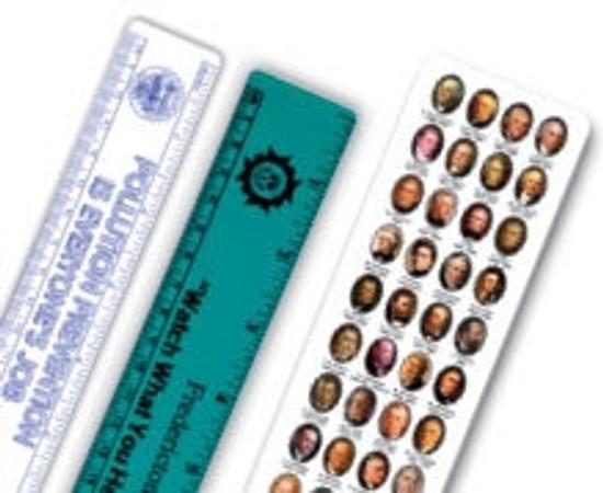 custom plastic rulers