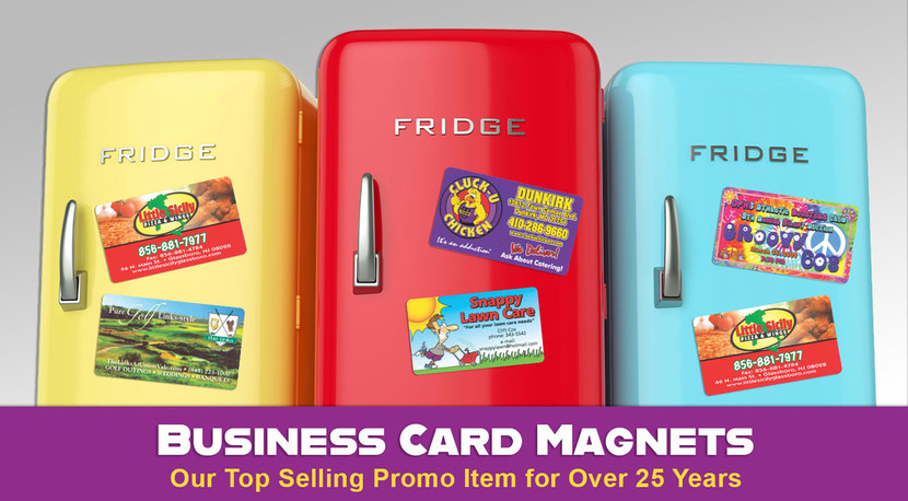 Why Business Card Magnets Have Been Our Top Seller for 25+ Years