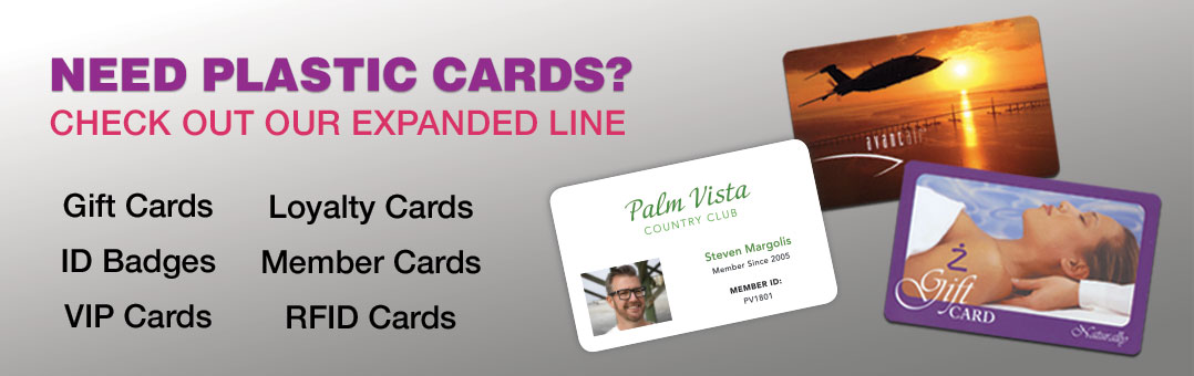 Expanded Plastic Card Line