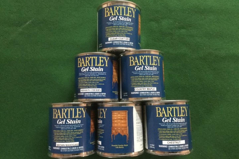 Bartley Gel Stain Half Pint