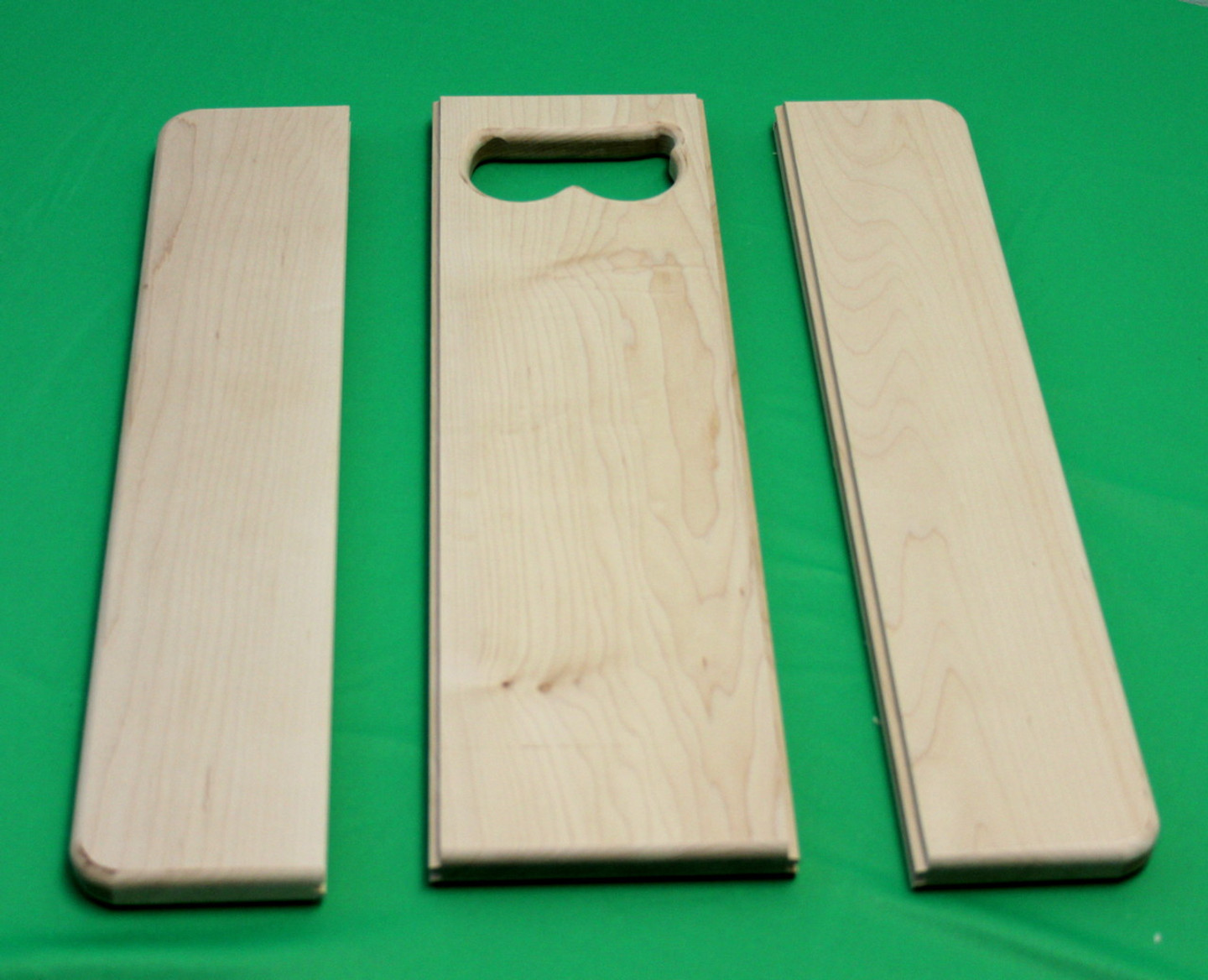 The Beginners Basic Cutting Board is comprised of three