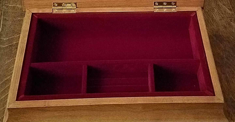 Jewelry Box Liner  for Irish Jewelry Chest, Sarah's Chest & Desk Display Chest