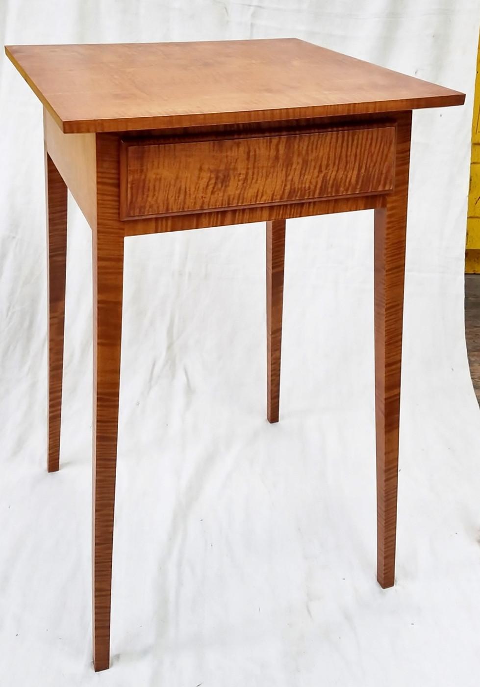 Hepplewhite Side Table With Drawer Hepplewhite Side Table With Drawer