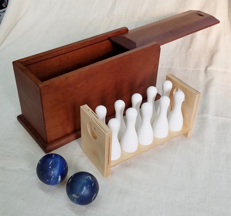 Boxed Bowling Set