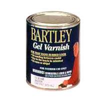 Bartley Gel Stain Clear Varnish (quart)