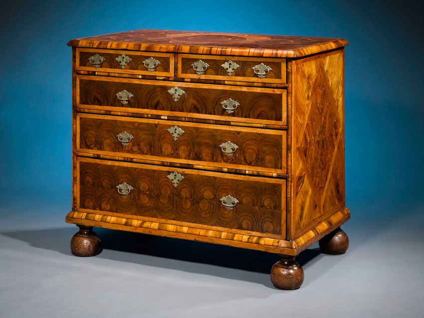 William & Mary Furniture: 1689 - 1725