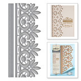 Graceful Floral Lace Card Creator Amazing Paper Grace by Becca Feeken Etched Dies