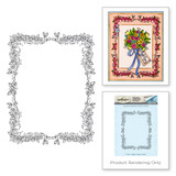 Rose Border Stamp from the Happy Grams #2 Collection by Tammy Tutterow