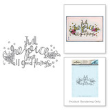 Rejoice 3D Shading Stamp from the Happy Grams #2 Collection by Tammy Tutterow