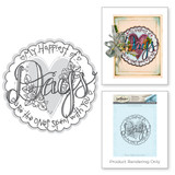 Days 3D Shading Stamp from the Happy Grams #2 Collection by Tammy Tutterow