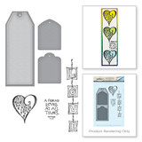Love Stamp and Die Set Bible Journaling by Joanne Fink