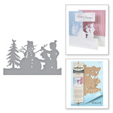 Shapeabilities Building a Snowman Holiday 2017 by Sharyn Sowell Etched Dies