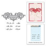 Scroll Banner Stamp & Die Set Ooh La La Collection by Stacey Caron